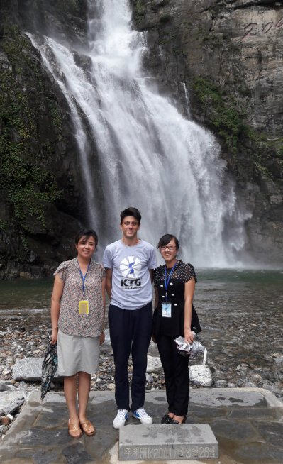 Ullim Waterfalls in North Korea (KTG)