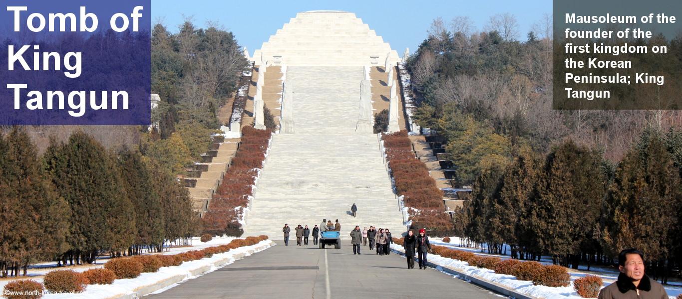 Tumba del Rey Tangun en Corea del Norte