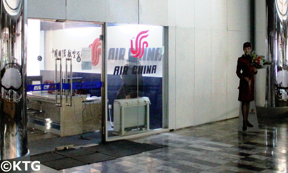 Air China offices in North Korea