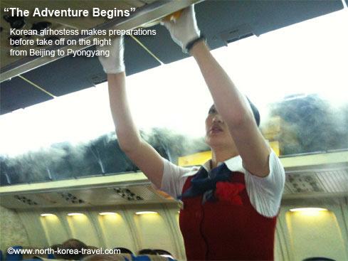 Air Koryo flight attendant
