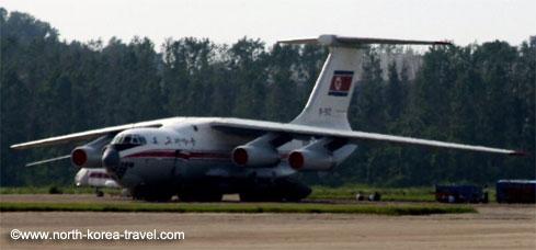 Air Koryo plane, North Korea