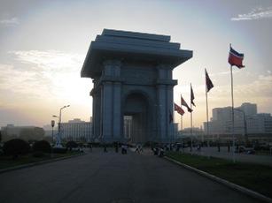 Arche du Triomphe a Pyongyang