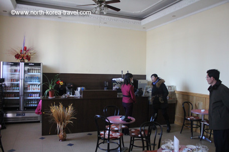 Austrian coffee shop in Pyongyang