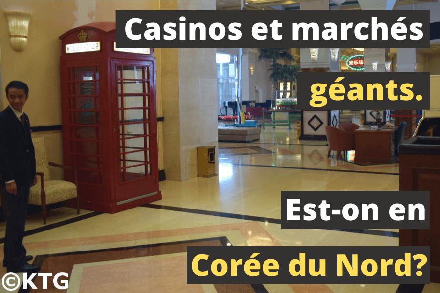 Casino à Rason en Corée du Nord avec KTG Tours