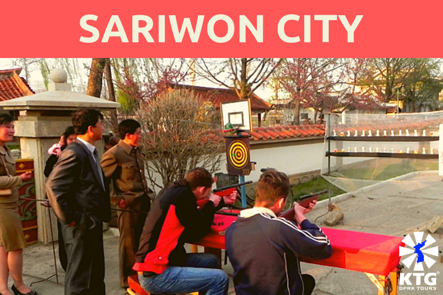 Sariwon city in North Korea (DPRK)