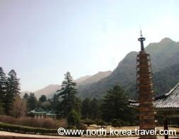 Mt. Myohyang en Coree du Nord