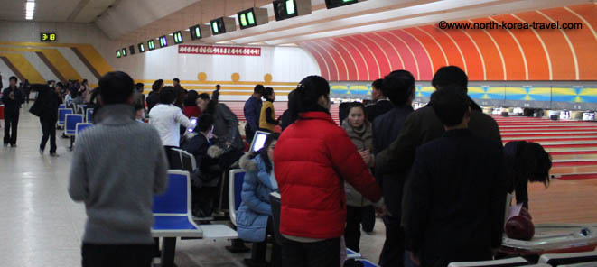 Bowling in North Korea