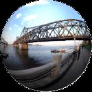 Dandong Sinuiju Friendship Bridge, DPRK China border