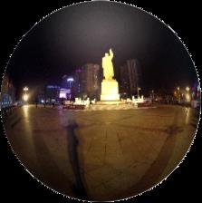 Dandong, ciudad en China 360°, que hace frontera con Corea del Norte