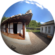 Pohyon Temple in North Korea (DPRK) 360°