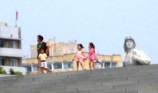 Enfants en Coree du Nord