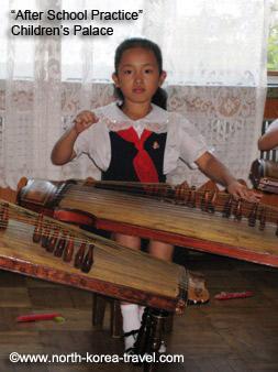 Enfant en Coree du Nord