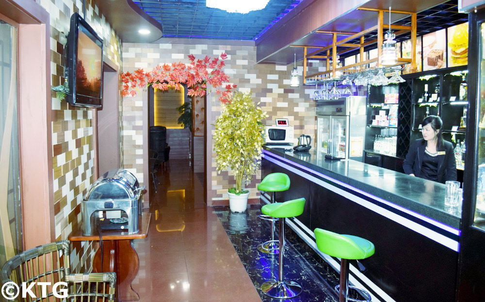 Chongnyon Hotel Bar, Pyongyang - the Youth Hotel is a budget hotel in North Korea