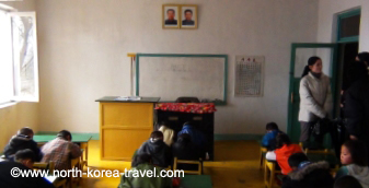 Classroom North Korea