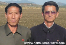 Cooperative farm near Nampo in North Korea (officially called DPRK)