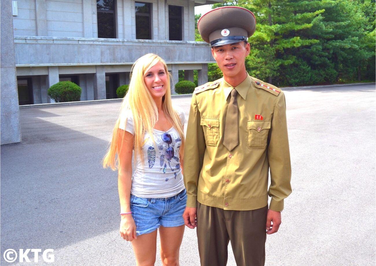 Voyageur de KTG à la DMZ en Corée du Nord