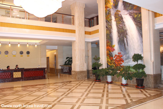Dongrim Hotel lobby, North Korea