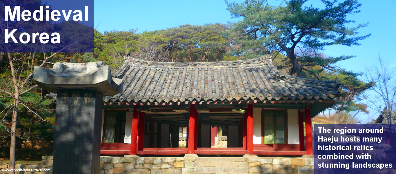 Haeju, North Korea, holds a combination of ancient Korean structures and beautiful landscapes