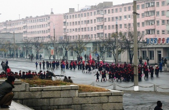 enfants a Hamhung en Coree du Nord