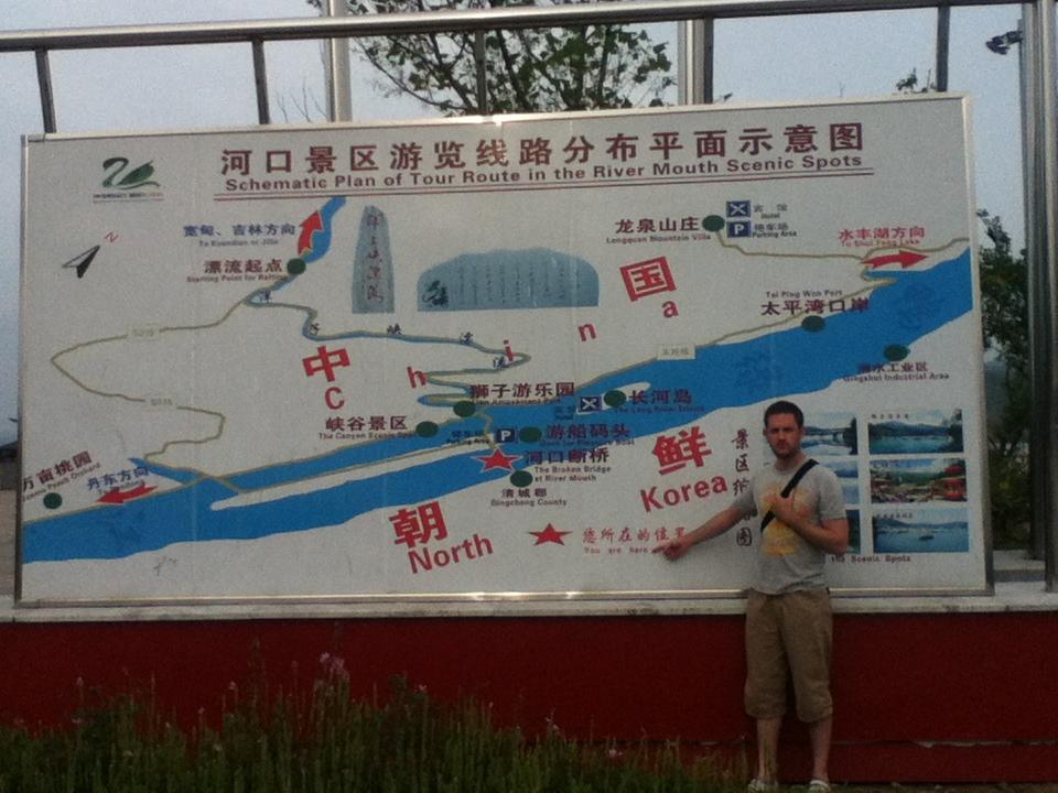 Hekou Chinese North Korea border