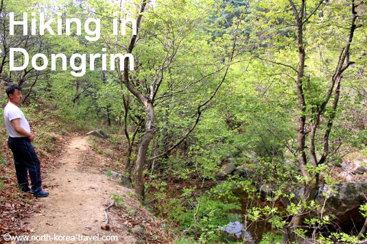Hiking in Dongrim, North Pyongan Province, DPRK (North Korea)