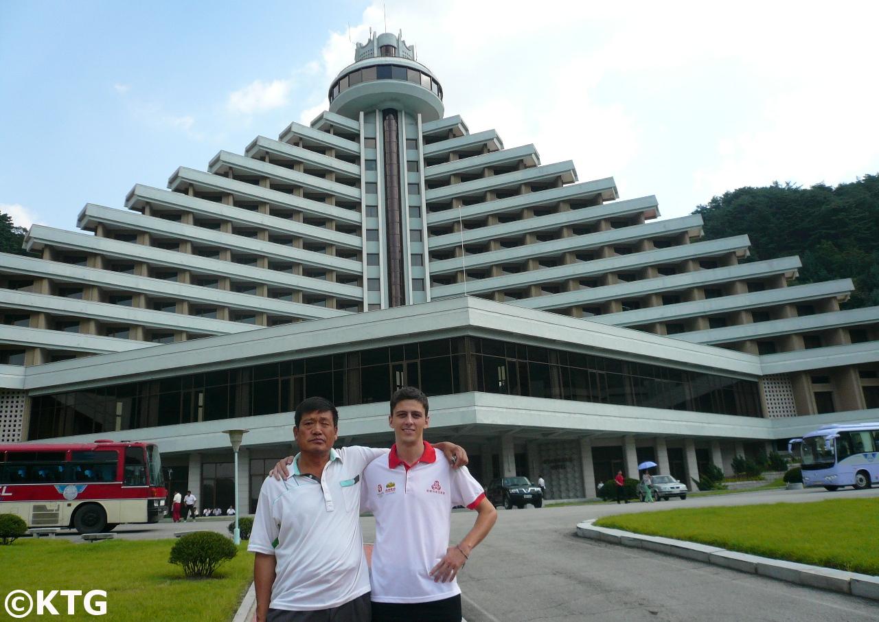El Hotel Hyangsan en Corea del Norte en 2008 cuando no era un hotel de lujo. Foto tomada por KTG