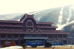 Masikryong ski resort in winter