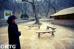 Paeksongri revolutionary site near Pyongsong city in North Korea. This is where Kim Il Sung university was moved to during the Korean War.