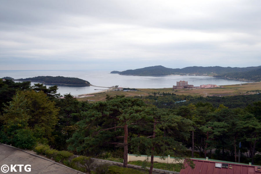 Pipha Islet in Sonbong. Rajin and Sonbong make up a special economic zone called Rason bordering Russia and China