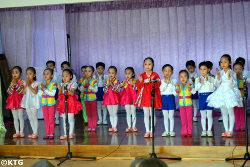 Kindergarten in Rajin city, North Korea (DPRK). Rajin and Sonbong make a special economic zone called Rason in the far northeast of the DPRK.