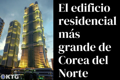 El edificio residencial más grande de Corea del Norte
