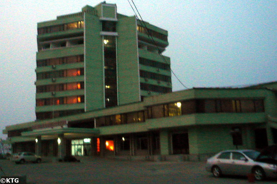 tongmyong hotel in Wonsan, east coast of North Korea, DPRK. Picture taken and trip arranged by KTG tours