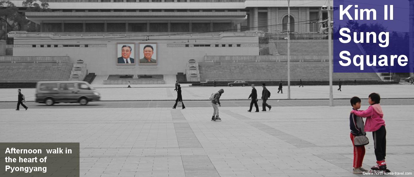 Kim Il Sung Platz, Nordkorea