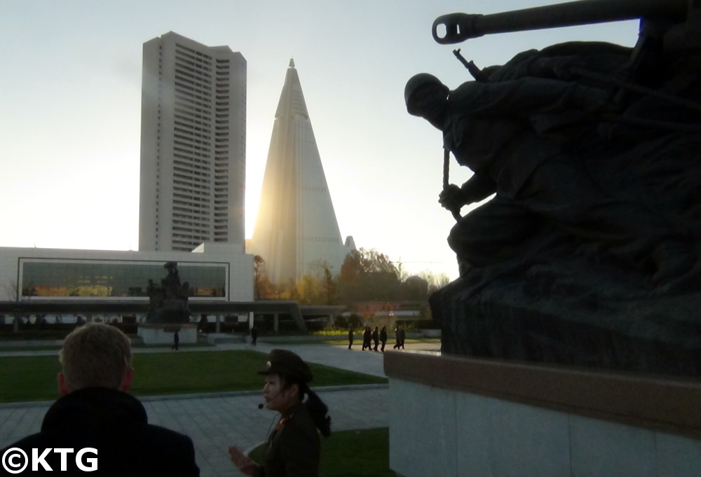 Korean War Museum in Pyongyang, capital of North Korea (DPRK)