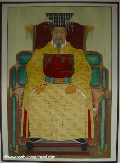 Dinastía de Koryo. Imagen tomada en Kaesong, Corea del Norte.