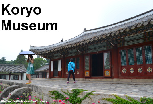 Koryo Museum in Kaeong, North Korea (DPRK)