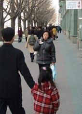 paseando por Corea del Norte