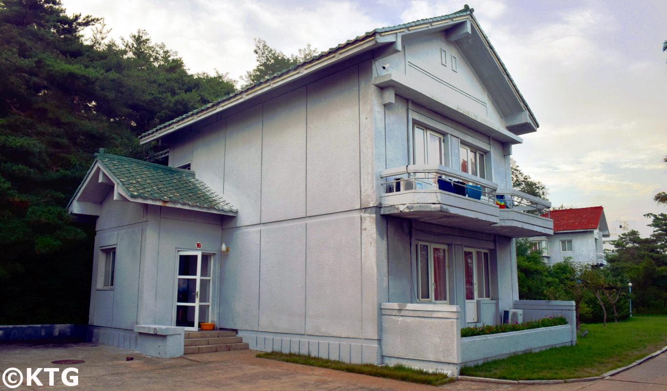 Villa at the Majon Beach Resort in North Korea, DPRK