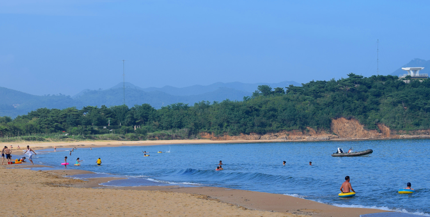 Majon beach, North Korea