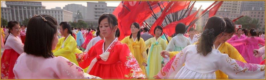 mass dance north korea