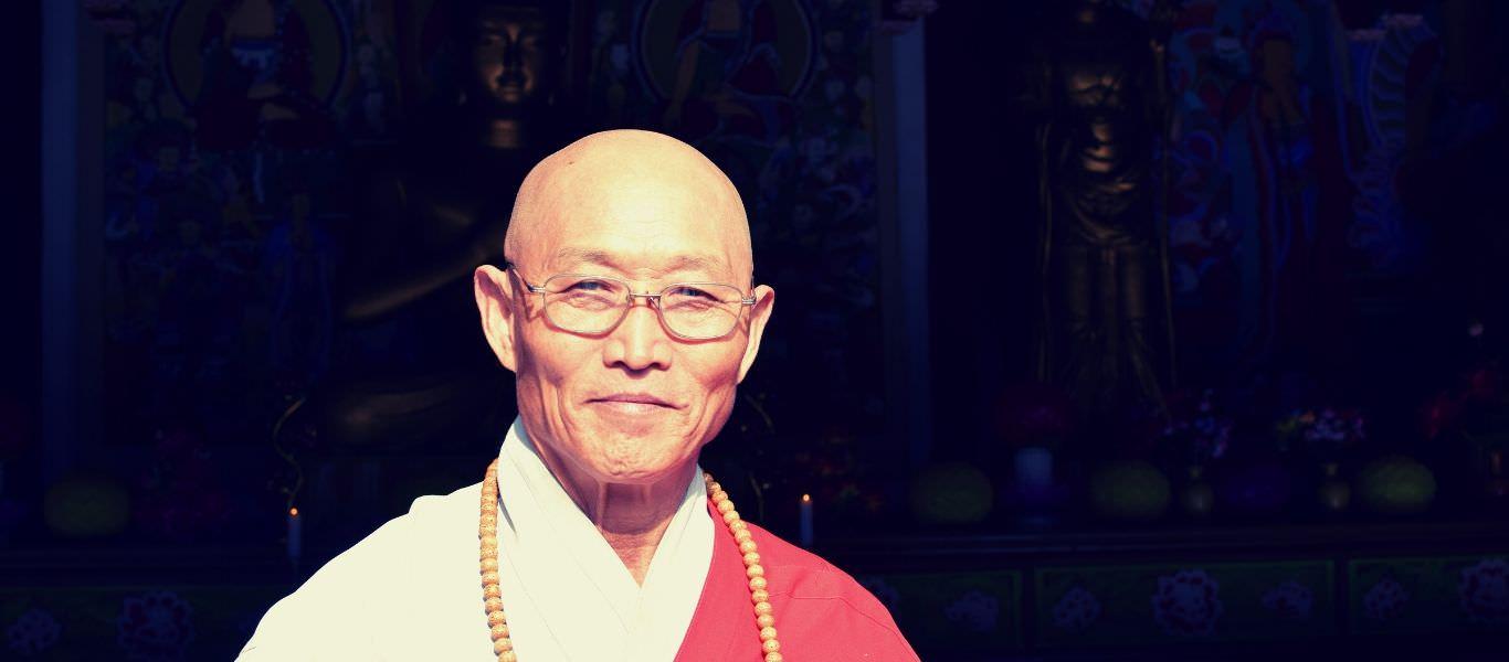 Monk in Pohyon Temple, Mount Myohyang