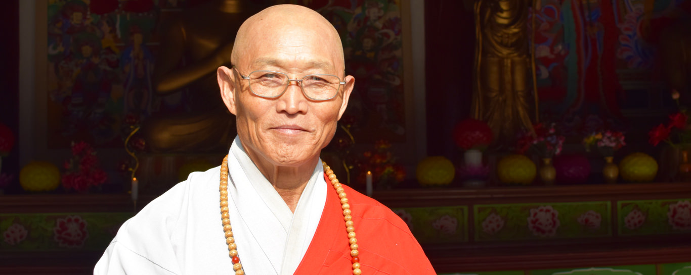 Monk in North Korea