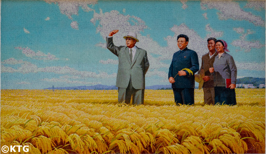 Chonsan Farm near Wonsan city in North Korea (DPRK)