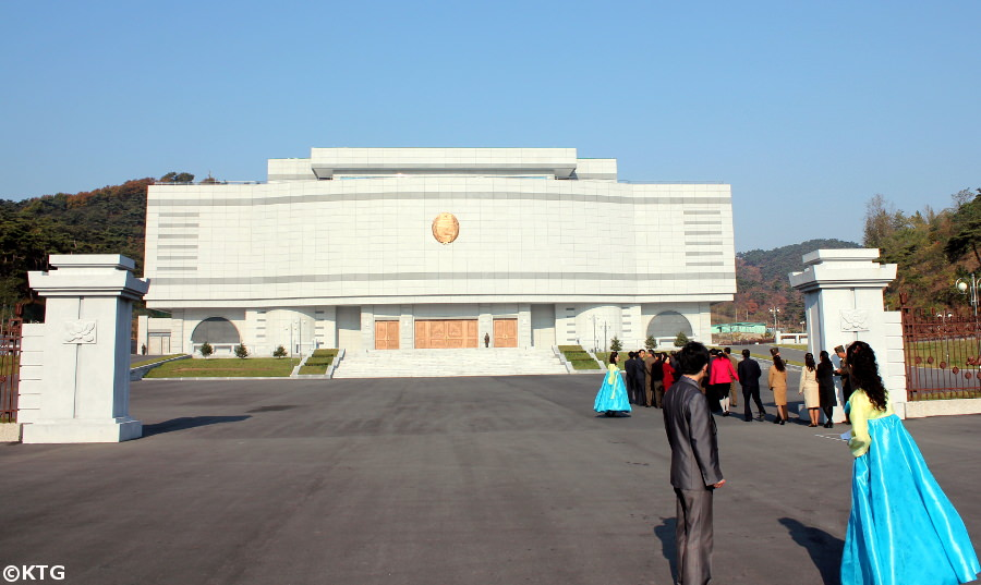 National Gift Museum in the outskirts of Pyongyang, capital of North Korea (DPRK). Trip arranged by KTG Tours