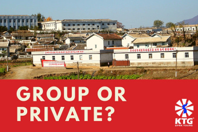 Group and private tours to North Korea