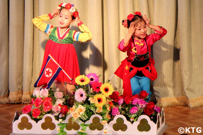 Ponbu kindergarten in Sinuiju, North Korea
