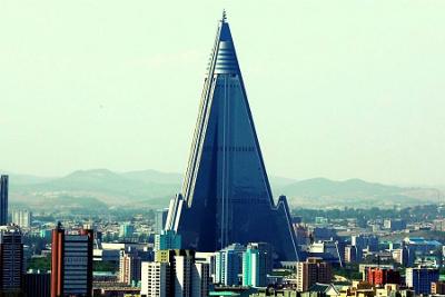 Ryugyong Hotel, Pyongyang capital of the DPRK
