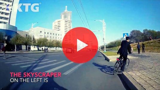 Pyongyang bike tours