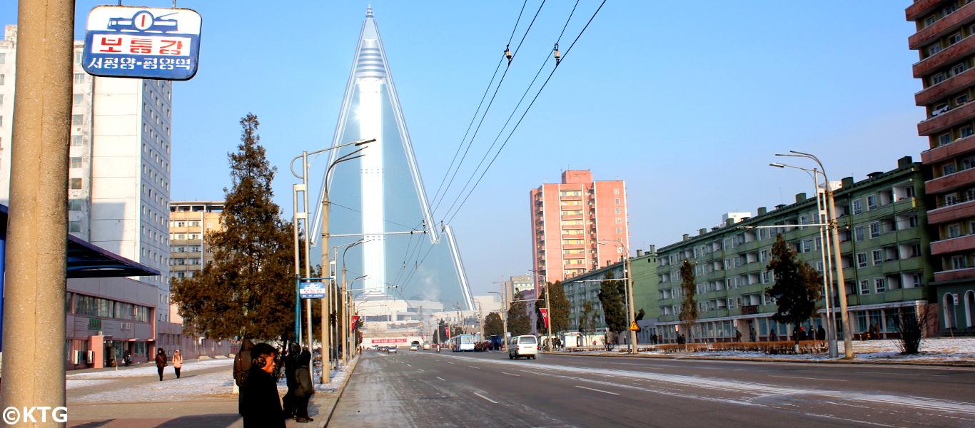 North Korea in the winter