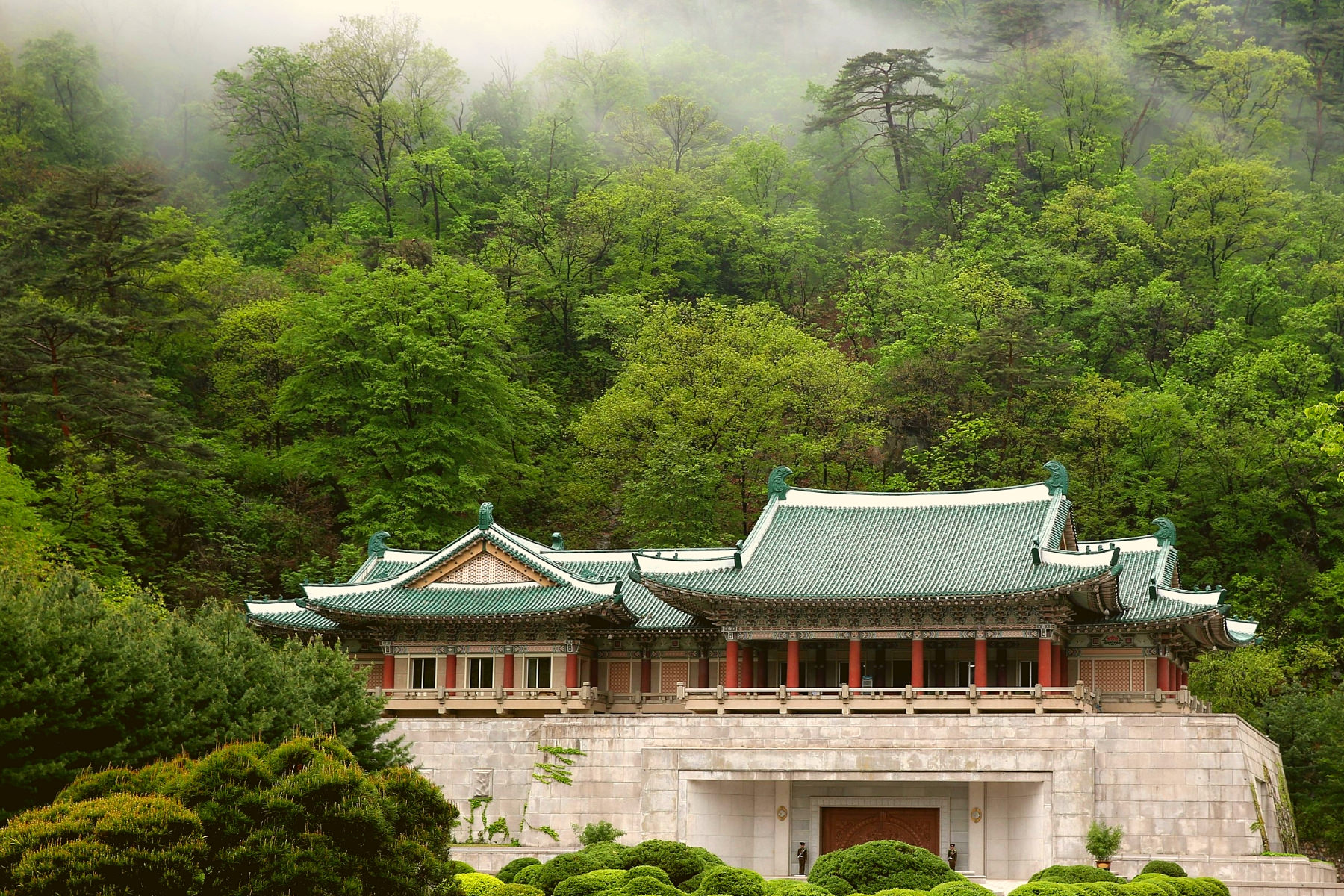 Mount Myohyang in North Korea with KTG